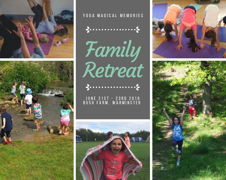 Family yoga retreat UK 2019